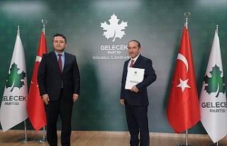 Gelecek Partisi Beyoğlu Teşkilatına Alucra'lı...