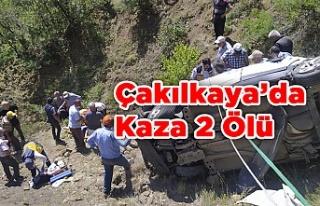 Çakılkaya'da Feci Kaza 2 Ölü 2 Yaralı