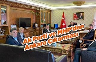 Ak Parti ve MHP'den Ankara Çıkarması