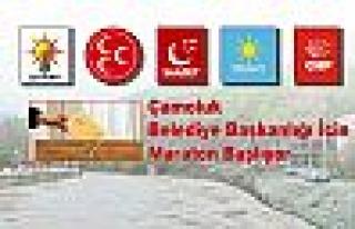 Çamoluk Belediye Başkanlığı İçin Maraton Başlıyor