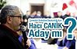 Çamoluk Belediye Başkanlığı İçin,Hacı Canik...