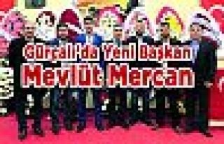 Gürçalı'da Yeni Başkan Mevlüt Mercan