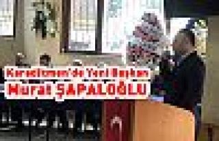 Karadikmen'de Başkan Murat Şapaloğlu