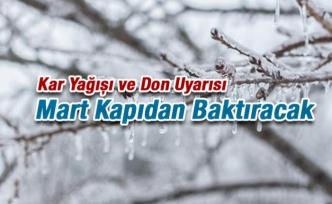 Kar Yağışı ve Don Uyarısı