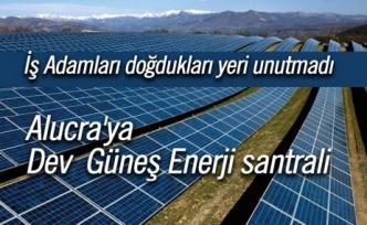 Alucra'ya Dev Enerji santrali