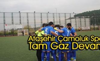Ataşehir Çamoluk Spor Tam Gaz Devam!