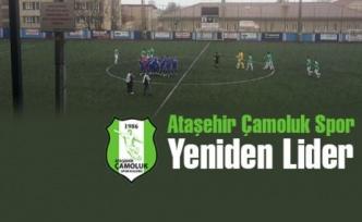 Ataşehir Çamoluk Spor'a liderlik yakışıyor