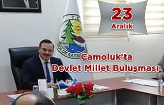 Çamoluk'ta Devlet Millet Buluşması 23 Aralık'ta
