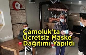 Ücretsiz Maske Dağıtımı Yapıldı