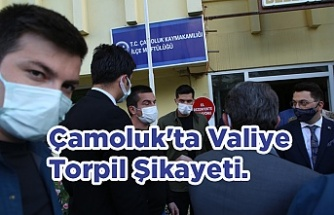 Çamoluk'ta Valiye Torpil Şikayeti.