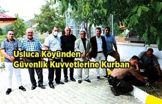 Usluca Köyünden Güvenlik Kuvvetlerine Kurban