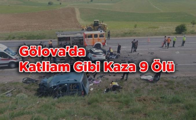 Gölova'da Katliam Gibi kaza 9 Ölü