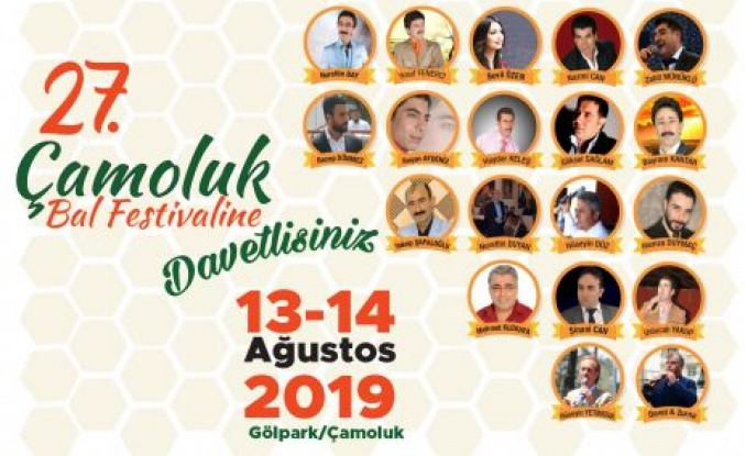 Bal Festivali 13-14 Ağustosta