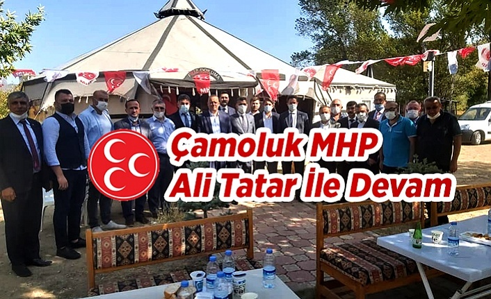 Çamoluk MHP Ali Tatar İle Devam