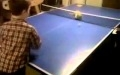 Masa Tenisi Oynayan Kedi