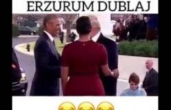 Obama Trump Başkanlık teslimi Erzurum Dublaj
